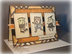 Howl-o-ween Ghouls card