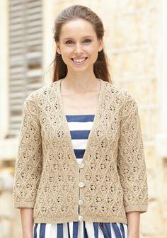 Neulottu pitsineulejakku SK 3/14. Sweaters, Fashion, Moda, La Mode, Pullover, Sweater, Fasion, Fashion Models, Trendy Fashion