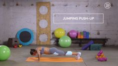 How to: Jumping Push-Up                                                                                                                                                                                 More