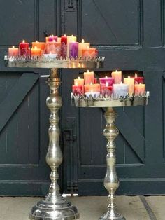 on my thrifting list...candles en masse