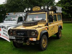 Land Rover 110 Station Wagon 2.5 Diesel Turbo. Trophy 1988 Sulawazi. Belgian Team Vehicle