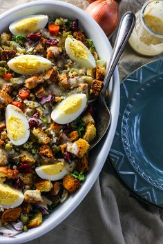 Vegan Maple Tahini Orange Roasted Acorn Squash and Cranberry Quinoa Salad - This healthy salad is mixed with maple roasted acorn squash, cranberries and oranges for a fall meal that is gluten free and vegan friendly. Perfect for Thanksgiving of Friendsgiving! | Foodfaithfitness.com | @FoodFaithFit