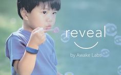 Reveal measures and tracks physiological signals in real time to help people living with autism understand changes in behaviour.