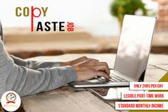 Get Standard Monthly income by Legible Part-time Copy-Paste Job. For more detail visit http://www.ntsinfotechindia.com/