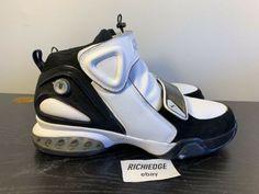 fd2cddba272 Reebok Answer IX 9 White Black Iverson Size 11 100% Air Max Sneakers