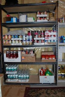 This site is so useful.  A step-by-step, week-by-week plan for building up a 3-month-supply of food, plus 72 hour kits, and long-term storage.