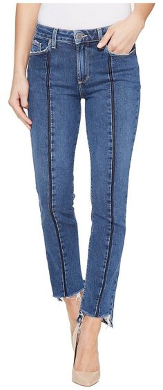 Paige Vintage Julia w/ Uneven Hem in Felice (Felice) Women's Jeans - Paige, Vintage Julia w/ Uneven Hem in Felice, 3695A65-3621, Apparel Bottom Jeans, Jeans, Bottom, Apparel, Clothes Clothing, Gift - Outfit Ideas And Street Style 2017