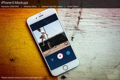 iPhone 6 Mockup 8 by shrdesign on @creativemarket