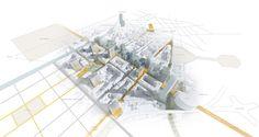Urban design / Fletcher Priest Architects / london + köln + riga