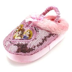 692f54522068 Disney Princess Kids Scuff Slippers