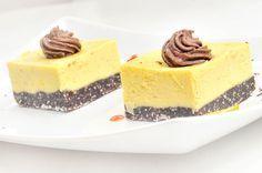 prajitura cu crema de portocale Raw Vegan Recipes, Bakery, Cheesecake, Lime, Sweets, Desserts, Food, Cooking Food, Recipes