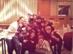 MBLAQ, 2PM, and F.T. Island prove their friendship