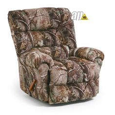 We love Camo! Check out all their other camo prints at their website!    Collections | Cabin Trails | SEGER | Best Home Furnishings