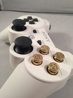 PS3 Bullet Casing Buttons - Self Install