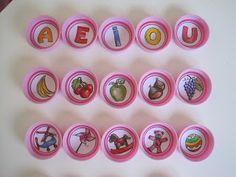 manumanie-kids: Giochi con i tappi di plastica