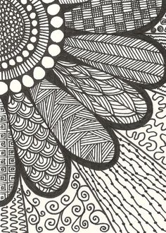 40 simple and easy doodle art ideas to try zentangle drawings, doodle drawings, doodles Doodle Art For Beginners, Easy Doodle Art, Doodle Art Designs, Doodle Art Drawing, Zentangle Drawings, Mandala Drawing, Drawing Ideas, Doodles Zentangles, Doodling Art