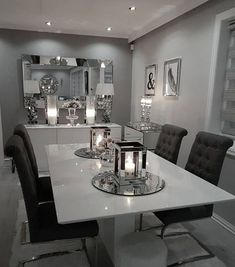 Gorgeous 30 Modern Minimalist Dining Room Design Ideas for Comfortable Dinner With Your Family, , home decor ideas diy, Family Dining Rooms, Dining Room Table Decor, Modern Dining Room Tables, Living Room Decor Cozy, Elegant Dining Room, Luxury Dining Room, Dining Room Walls, Dining Room Design, Cozy Living