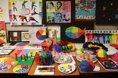 The World Wide Color Wheel Project   SchoolArtsRoom   Art Education Blog for K-12 Art Teachers