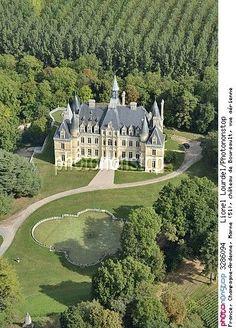 France, Champagne-Ardenne, Marne -château de Boursault