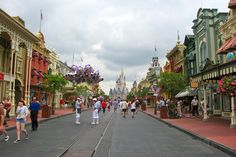 3.) Devices called Smellitizers are strategically placed throughout the park to emit certain scents, such as on Main Street USA, the smell of cookies and vanilla is emitted.