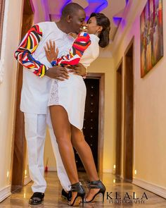 The most classic collection of beautiful traditional and ankara styles and designs for couples. These ankara styles collections are meant for beautiful African ankara couples Couples African Outfits, African Clothing For Men, Couple Outfits, African Attire, African Wear, African Women, Children Clothing, African Inspired Fashion, Latest African Fashion Dresses