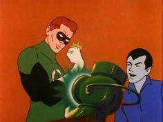 Green Lantern and Kairo (DC Filmation)