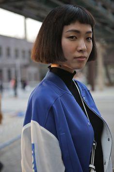 Street style China Fashion Week #China #street #style