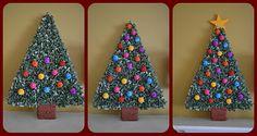 como hacer un arbolito de poliestireno un hermoso ardorno navideño para hacer con los niños