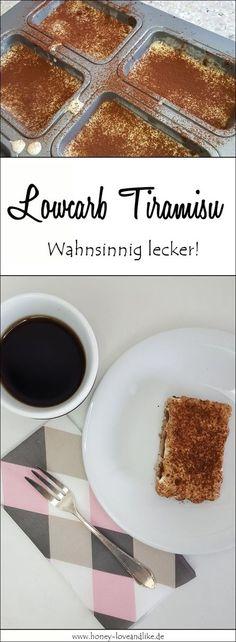 Ich liebe Tiramisu! Also habe ich improvisiert und ein Lowcarb Tiramisu gezaubert.
