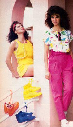 Bermuda contest, Glamour magazine, May 1985. Sponsored by Jou Jou.