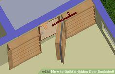 Image titled Build a Hidden Door Bookshelf Step 6