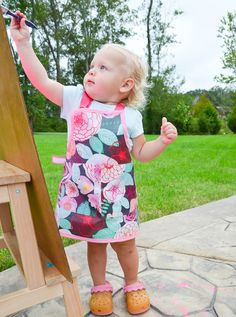 DIY Toddler Apron -