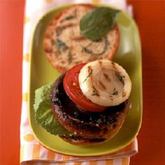 Portobello Mushroom Burgers-is an easy and quick (20) minute grilling recipe. This is also a healthy, low calories, low fat, low cholesterol, low sodium, low carbohydrates, heart-healthy, vegetarian and Weight Watchers (7) PointsPlus recipe. Makes 2 sandwiches.