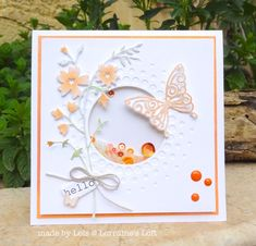 Gorgeous card by Lols for the Simon Says Stamp Wednesday challenge (April Showers or Spring Flowers)