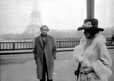 "Marlon Brando & Maria Schneider    on the set of ""The Last Tango In Paris"""
