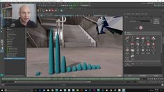 Journey to VR: Using Maya's nCloth to create audio-driven motion graphics (Part 2 of 2) on Vimeo