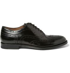 Paul Smith Shoes & Accessories Jacob High-Shine Leather Brogues | MR PORTER