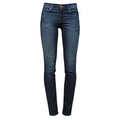 J BRAND Midrise Skinny Heritage ($75) ❤ liked on Polyvore featuring jeans, pants, bottoms, calças, pantalones, blue jeans, ripped denim skinny jeans, blue skinny jeans, skinny leg jeans and skinny fit jeans