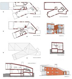 Y HOUSE, Catskills NY (1997-1999) | Steven Holl Architects