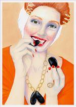 zeeuwse meisje eet mosselen