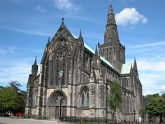 Glasgow Cathedral. I want to get married here.