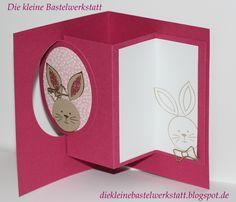 Stampin up Friends&Flowers Ostern Hase  Osterkarte Osterhase Frühling Karte Grusskarte