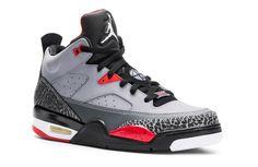 Jordan Son of Mars Low – Cement Grey – Black – Fire Red – White