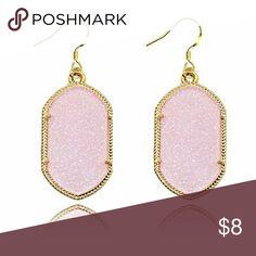 Light Pink Statement Earrings New light pink statement earrings. Bundle and save. Jewelry Earrings
