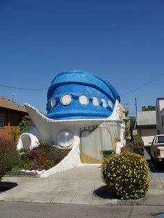 ˚Very odd House - Berkeley, California