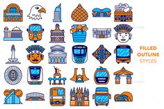 City Vector, Eps Vector, Vector File, Vector Icons, Jakarta City, Badge Icon, Social Media Calendar, Mobile App Design, New Product