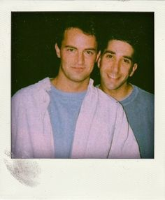 Matthew Perry and David Schwimmer