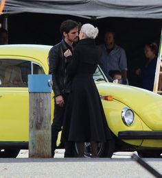 """Colin O'Donoghue and Jennifer Morrison - Behind the scenes - 5 * 2 """" The Price"""" - 22 July 2015 #CaptainSwan"""