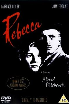 """Rebecca"" the movie, such a classic, beautiful movie. Combine Hitchcock & Du Maurier = Genius'!"