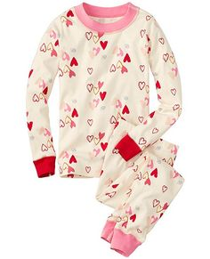 Valentines Day Pajamas in Organic Cotton - @hanna